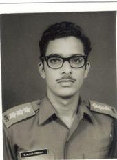 A PHOTO ID PICTURE TAKEN IN 1972 AFTER THE LIBERATION WAR.