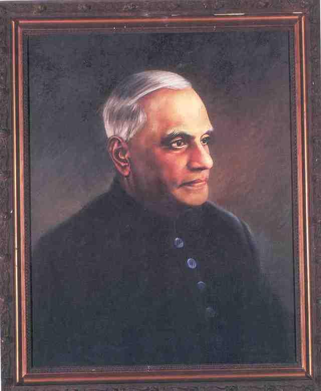 Shri. Varahagiri Venkata Giri ( 1894 - 1980 ). My grandfather knew him very well during the years they had spent in Madras(Chennai).