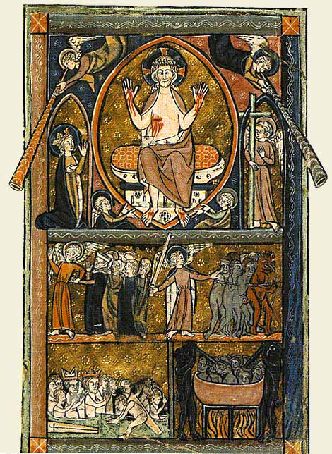 Illustration of Doomsday or Day of Judgement- The Book of 2 Corinthians,Chapter 5, verse 10