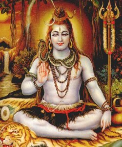 Lord Shiva( the Auspicious one), is known as 'Maha Deva'(Great God), Sambhu or Shambho(the Benignant one),an Ocean of Compassion and a Destroyer of Sensuality, a Great Ascetic, the Restorer of Peace.