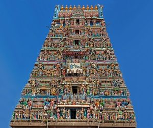 "This landmark Temple of Kapaleeswara binds me to my birthplace of Mylapore, Madras(Chennai). The Presiding Diety of this Temple is chosen as my personal Protector and hence I am given the name of ""RUDRA""."