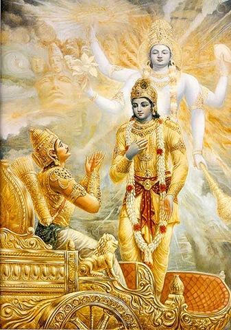 Gunam etan atitya trin dehi deha - samudbhavan, Janma - mrtyu jara-dukhair Vimukto ' mrtam asnute.
