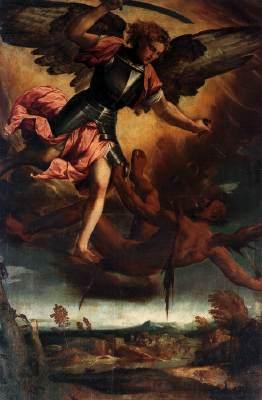 Saint Michael Vanquishing the Devil