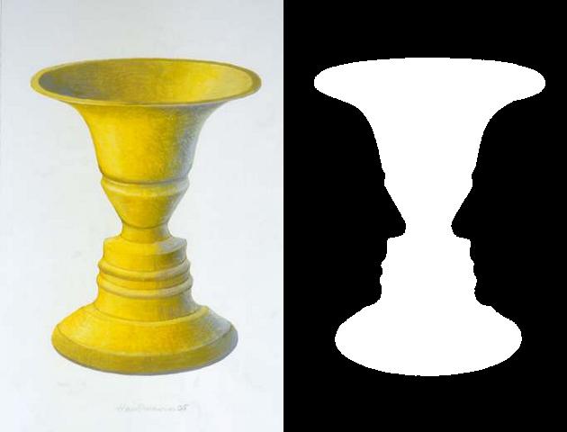Figure and Ground Illusion