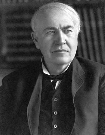Thomas Alva Edison - 'The Light Bulb' Connection to Indian Identity