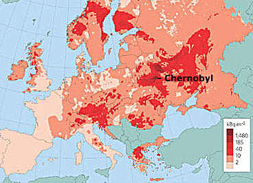 Radiation Map – Chernobyl Disaster – Civil Liability for ...