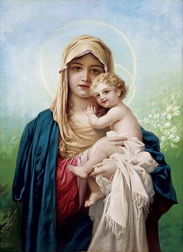 mother mary holding baby jesus when does human life begins