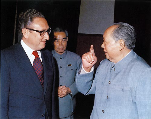 Dr. Kissinger's diplomatic initiatives had totally failed the US Policy in Southeast Asia. Communist China remains a huge military threat in this region and United States had failed in its mission to curb the expansion of Communist Power.