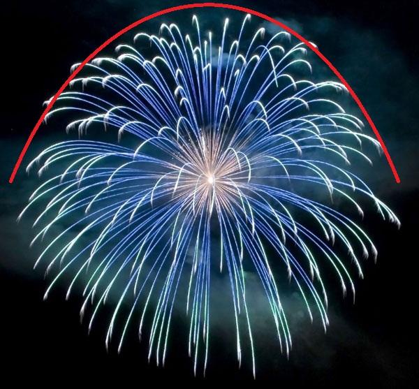 Aerial Shell Fireworks Display  U00ab Wholedude