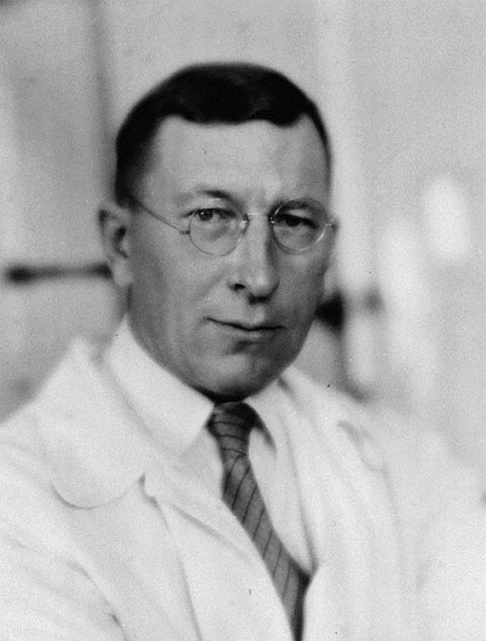 Sir Frederick Grant Banting(1891-1941), Canadian physician isolated pancreatic hormone, later called Insulin.
