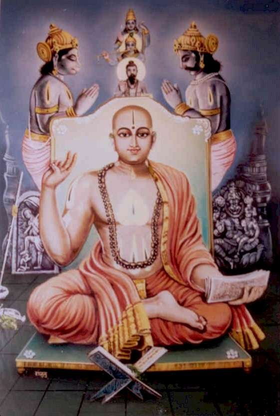 "Spiritualism and Fundamental Dualism: Madhvacharya(c. 1199 - c. 1278) is the exponent of ""DVAITA"", the Indian School of Philosophy that claims a basic difference in kind between God and individual souls."