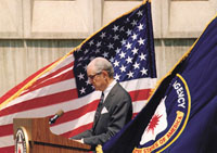 Whole Dude - Whole Spy: The CIA celebrated its 50th Anniversary during 1997 and the former Director Helms was most warmly received and was acknowledged for his great contribution to the Organization in a variety of capacities.