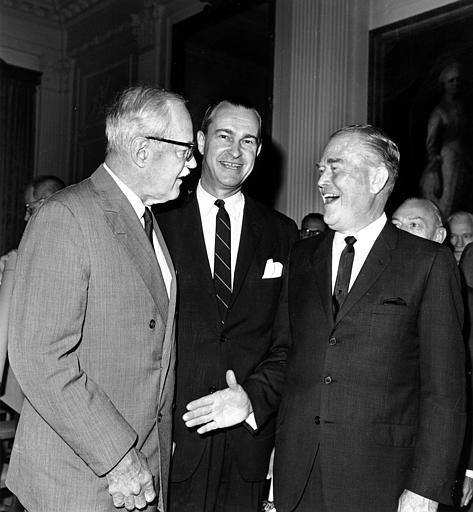 Whole Dude - Whole Spy: June 30, 1966 The White House. Richard Helms replaced CIA Director William F. Raborn who served from 1965 to 1966. The 5th Director of CIA, Allen Welsh Dulles attended this swearing in ceremony.
