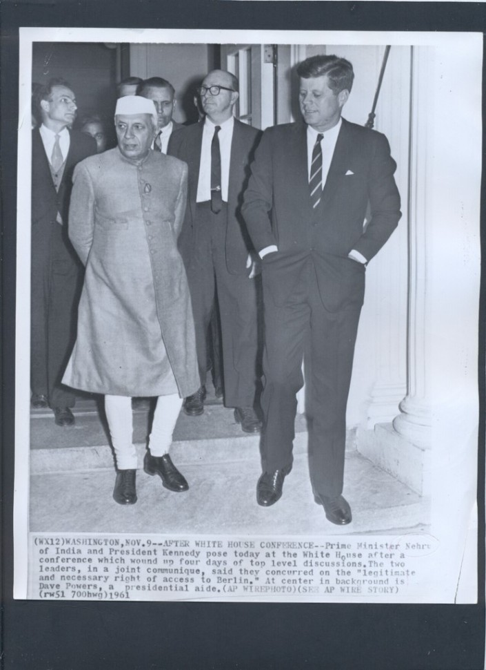 November 07, 1961: People's Republic of China had attacked India during October-November 1962 as the United States and India have expressed a sense of solidarity about the future of Tibet.
