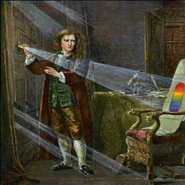 """Spiritualism - The Colors of Life: Sir Isaac Newton(1642-1727),English mathematician, physicist, and natural philosopher was the first to explain what he called """"the permanent colours of natural bodies."""""""