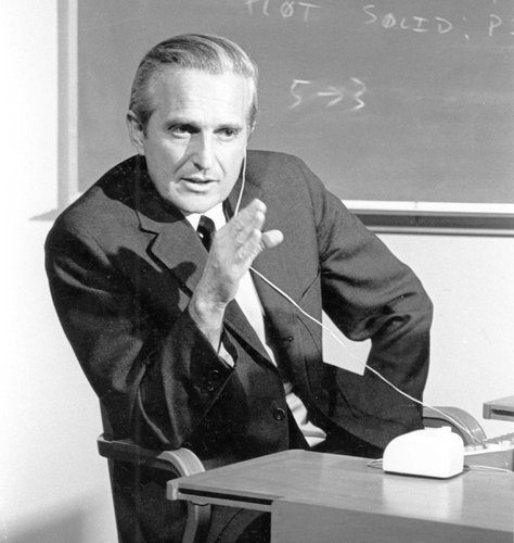 WholeDude - Whole Inventor : A special tribute to Dr. Douglas Carl Engelbart who introduced the use of a device called 'Mouse' to control the operations of a computer.