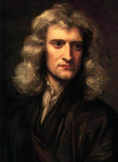 WholeDude-WholeDesigner - Sir Issac Newton who discovered that white light is composed of every color in the spectrum.