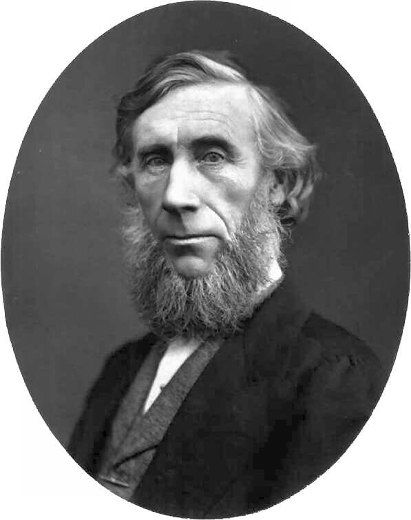 WholeDude-WholeDesigner: John Tyndall(1820-1893), English Physicist, Professor, and Superintendent at the Royal Institution, London(1853-1887), researched sound, light, and radiant heat. The scattering of light by colloids is known as Tyndall Effect.