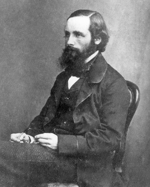 WholeDude-WholeDesigner: James Clerk Maxwell(1831-1879), Scottish Physicist, first Professor of Experimental Physics, Cavendish Laboratory, Cambridge who researched Electricity and Magnetism and contributed to a greater understanding of Color.