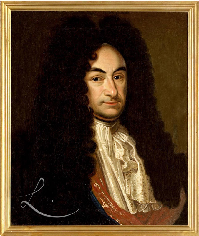 WholeDude - WholeDesigner - Whole Monad: Gottfried Wilhelm von Leibniz(1646-1716), German philosopher and mathematician. His theory of monads is shared in his work  'Monadology'(1714).
