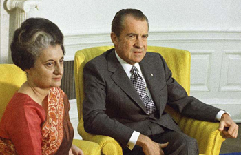 WholeDude - WholeVillain: India's Prime Minister Indira Gandhi could not obtain any support from US President Richard Nixon during her visit to Washington D.C. on November 04, 1971. However, it did not deter Special Frontier Force/Establishment No. 22 from initiating our military action to dislodge Pakistan's Army from East Pakistan. We began our military action on November 03, 1971, a day before this meeting.