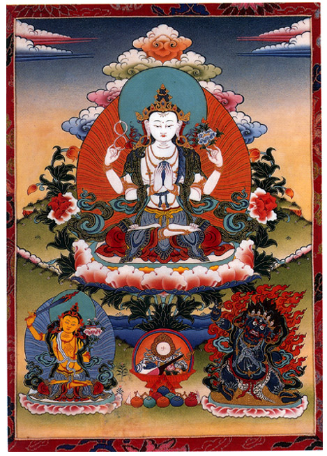 """SPECIAL FRONTIER FORCE AT THE WHITE HOUSE: His Holiness the 14th Dalai Lama who has visited The White House on numerous occasions during the last 30 years is the rebirth of a long line of """"TULKUS"""" who descend from the Bodhisattva named """"AVALOKITESVARA."""""""