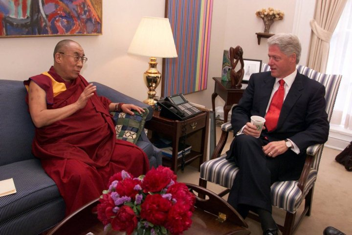 SPECIAL FRONTIER FORCE AT THE WHITE HOUSE: The 14th Dalai Lama met ...