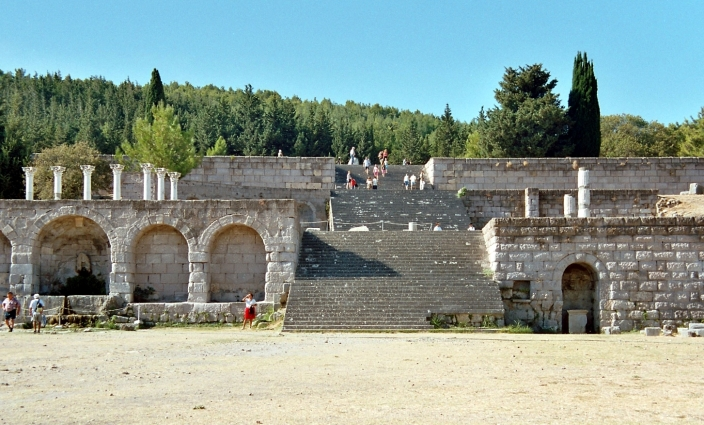 SPIRITUALITY SCIENCE - WHOLE MEDICINE: This ancient School of Medicine is called the 'Askleipion' and this could be the Hippocratic Medical School of Kos, Greece.