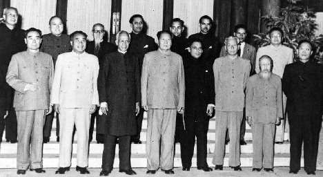 SPECIAL FRONTIER FORCE - THE DECEPTION OF PANCHSHEEL AGREEMENT OF 1954: INDIA'S VICE-PRESIDENT DR. S. RADHAKRISHNAN VISITED PEKING DURING SEPTEMBER 1957 AND MET WITH THE LEADERS OF COMMUNIST CHINA WITH AN EARNEST DESIRE TO SAVE TIBET FROM CHINA'S MILITARY OPPRESSION. THE TRUE INTENTIONS OF CHINA GOT EXPOSED AND THE DECEPTION OF PANCHSHEEL AGREEMENT BECAME FULLY EVIDENT.