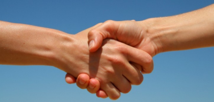 """WHOLE TEAM - WHOLE TRADITION - WHOLE CONCEPTION: HANDSHAKE IS A TRADITIONAL FORM OF PARTING AND GREETING. SHAKE HANDS INVOLVES THE ACT OF CLASPING EACH OTHER'S HANDS AS A TOKEN OF AGREEMENT OR FRIENDSHIP. I EVOLVED A NEW, ORIGINAL TRADITION CALLED """"SHAKE AND LIKE"""" THAT WILL NOT INVOLVE CLASPING EACH OTHER'S HANDS."""