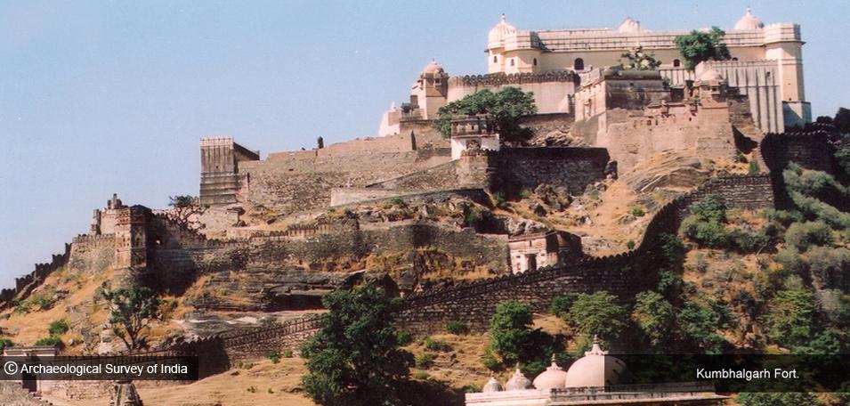 Bharat Darshan - Kumbhalgarh Fort.