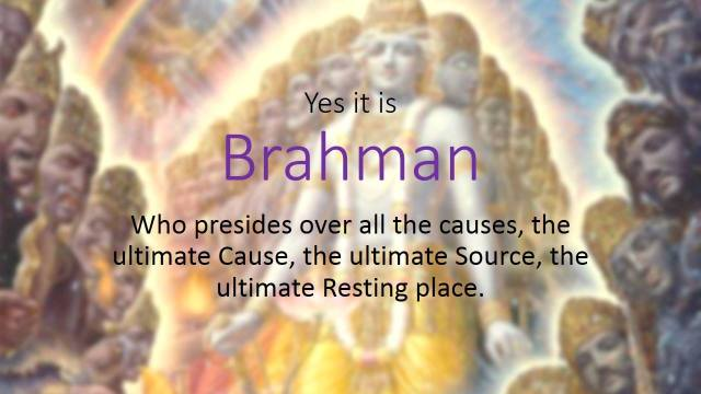 SPIRITUALITY SCIENCE - ESSENCE - IDENTITY - UNITY - EXISTENCE : GOD(BRAHMAN) IS DEFINED AS THE FIRST CAUSE AND MAN'S EXISTENCE BECOMES THE SINGLE, HARMONIOUS EFFECT OF THAT ORIGINAL CAUSE THAT BRINGS UNITY BETWEEN THE THREE ORDERS CALLED GOD, SOUL, AND MATTER.