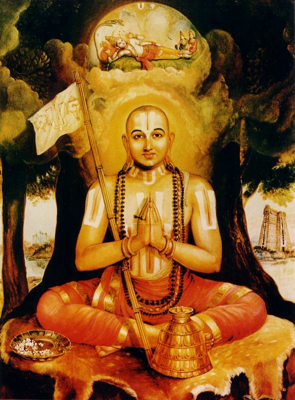 SPIRITUALITY SCIENCE - ESSENCE - IDENTITY - UNITY - EXISTENCE : RAMANUJA(c.1017 - c.1137), EXPONENT OF QUALIFIED NON-DUALISM OR VISISTADVAITA. HE STATED HIS GOAL OF ACHIEVING SOUL'S UNION WITH A PERSONAL GOD THROUGH THE PRACTICE OF BHAKTI OR DEVOTION.