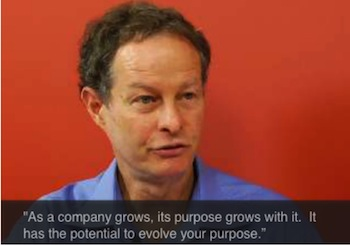 WHOLE TEAM - WHOLE CONGRATULATIONS - WHOLE GIFT: WHOLE FOODS MARKET CEO JOHN MACKEY HAS CLAIMED THAT THE PURPOSE OF THE COMPANY AND THE PURPOSE OF THE TEAM MEMBERS ARE INTERRELATED AND INTERCONNECTED.