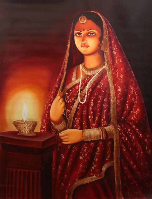 """SPIRITUALITY SCIENCE - AHAM BRAHMASMI - UNITY VS IDENTITY : THIS ARTICLE IS DEDICATED TO THIS INDIAN LADY WHO SYMBOLIZES THE PRINCIPLE OF UNITY THAT APPEARS AS THE VERBAL SOUND OR SHABDA CALLED """"ASMI"""" WHICH MEANS  ALWAYS PRESENT, OR EVER-EXISTING."""
