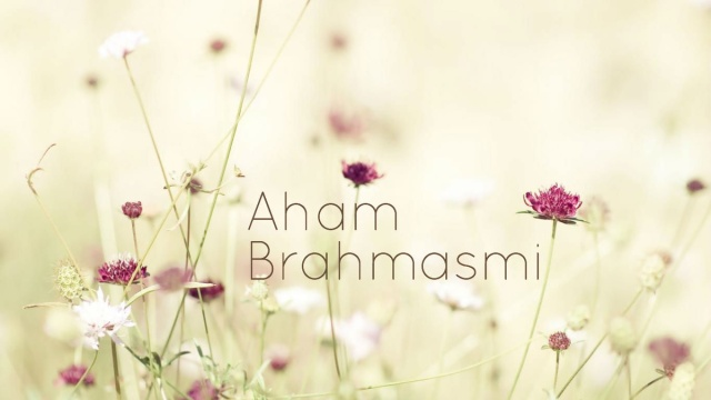 """SPIRITUALITY SCIENCE - AHAM BRAHMASMI - UNITY VS IDENTITY : IN THIS PRESENTATION I WOULD LIKE TO STRESS THE IMPORTANCE OF THE VERBAL SOUND CALLED """"ASMI"""" THAT DESCRIBES THE UNITY BETWEEN GOD AND MAN. HENCE THE ISSUE IS NOT THAT OF IDENTITY  OR DIFFERENTIATION BETWEEN MAN AND GOD."""