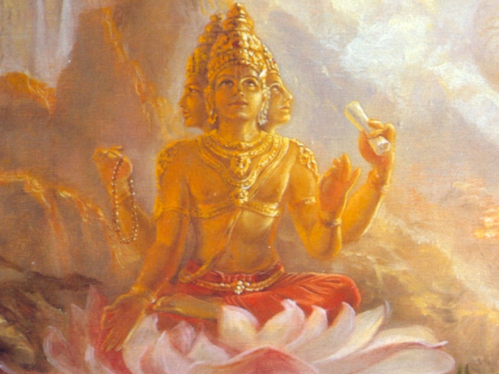 SPIRITUALITY SCIENCE - THE KNOWER - THE KNOWING-SELF : IN INDIAN TRADITION, THE TOTAL MATERIAL SUBSTANCE OR MATTER IS CALLED BRAHMA AND LORD BRAHMA IS THE CREATOR AND IS ESSENTIALLY PRESENT IN THE MATTER THAT HE CREATES.