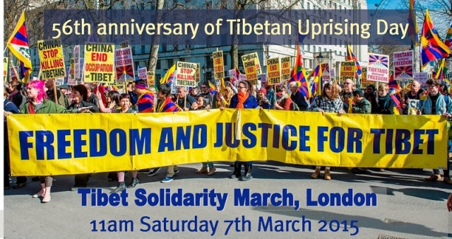 THE  BATTLE  OF  RIGHT  AGAINST  MIGHT  :  SEEKING  SOLIDARITY  OF  GLOBAL  COMMUNITY  IN  SUPPORT  OF  FREEDOM  IN  OCCUPIED  TIBET .