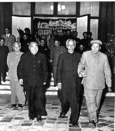 HISTORY  OF  THE  US-INDIA-TIBET  RELATIONS  : SEPTEMBER  1957 . PEKING .