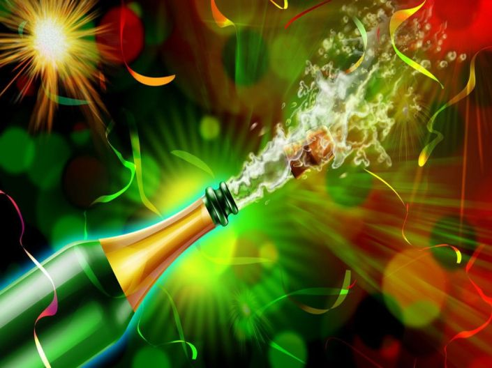 wholemurphy wholereport pop the bubbly champagne celebration