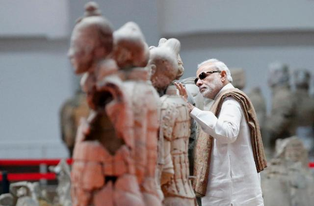"""INDIAN  PRIME  MINISTER   VISITS  RED  CHINA :  THIS  CULTURAL  HERITAGE  DOES  NOT  REPRESENT  RED  CHINA.  TO  KNOW  AND  TO  UNDERSTAND  RED  CHINA,  I  ASK  MY  READERS  TO  REVIEW  THE  HISTORY  OF  """"CULTURAL  REVOLUTION""""  THAT  WAS  LAUNCHED  BY  CHAIRMAN  MAO  TSE-TUNG  IN  AUGUST  1966  AND  ENDED  WHEN  MAO  DIED  IN  SEPTEMBER  1976."""