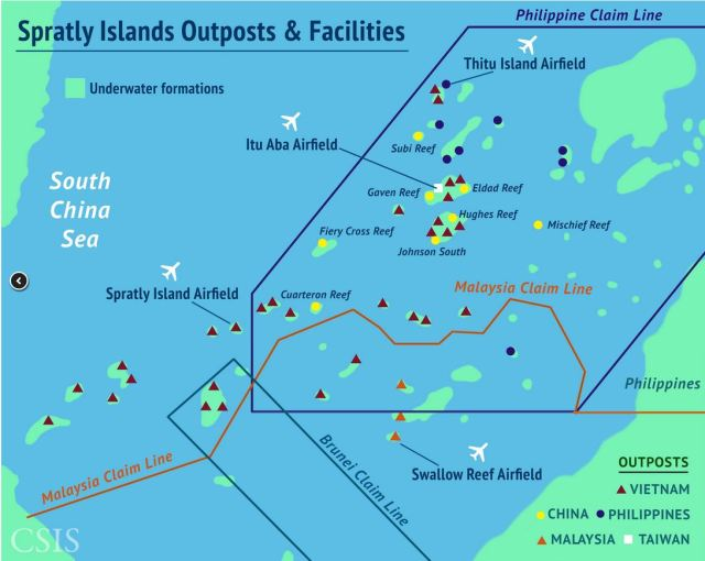 RED  CHINA  -  EXPANSIONISM  -  SOUTH  CHINA  SEA :