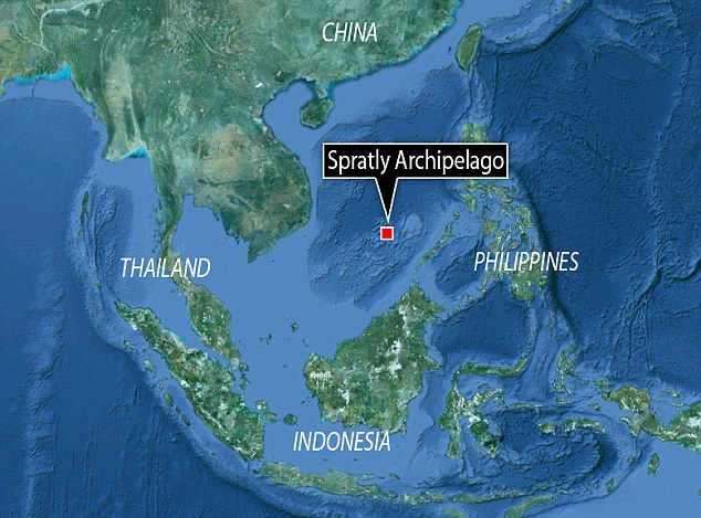 the evil red empire airspace south china sea