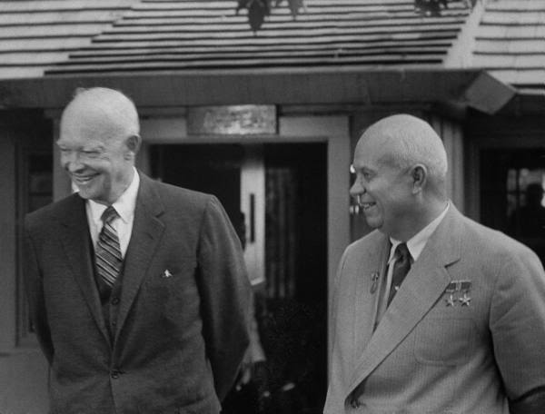 THE  EVIL  RED  EMPIRE  -  NUCLEAR  EXPANSIONISM :  SOVIET  PREMIER  KHRUSHCHEV  VISITED  THE  US  IN  SEPTEMBER  1959.