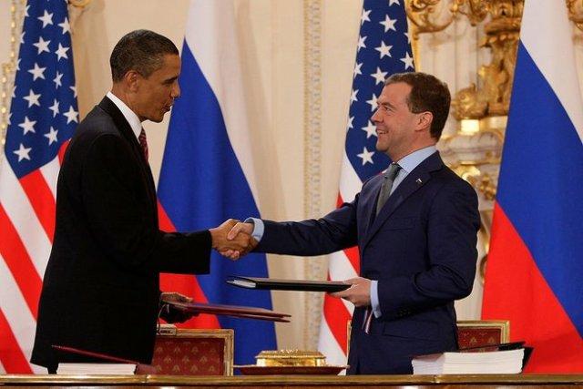 the evil red empire obama medvedev prague treaty 04 08 2010