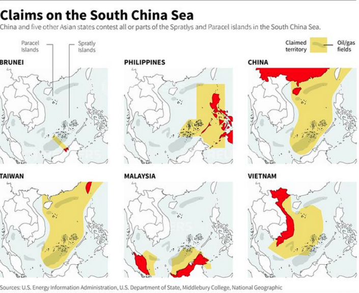 THE EVIL RED EMPIRE - RED CHINA VS PHILIPPINES - A DISPUTE IMPOSED BY RED CHINA'S EXPANSIONIST POLICY.