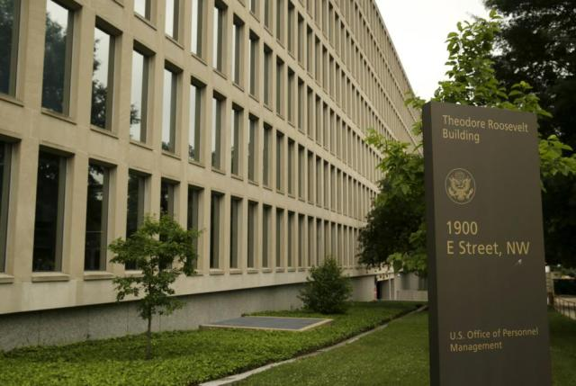 The U.S. Office of Personnel Management building in Washington June 5, 2015. In the latest in a string of intrusions into U.S. agencies' high tech systems, the Office of Personnel Management (OPM) suffered what appeared to be one of the largest breaches of information ever on government workers. The office handles employee records and security clearances.  REUTERS/Gary Cameron