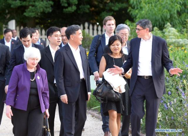 RED DRAGON - RED CHINA - RED ALERT - HEGEMONIST : RED CHINA'S VICE PREMIER WANG YANG IN MT VERNON, VIRGINIA.