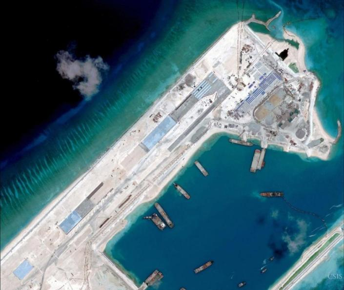 reddragon expansionist fiery cross reef spratly islands