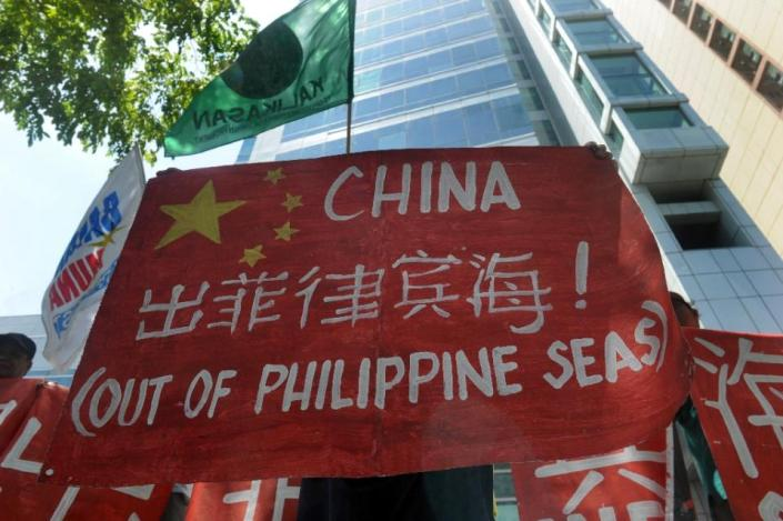 THE EVIL RED EMPIRE - RED CHINA VS PHILIPPINES - FILIPINO PROTEST ON MAY 11, 2015.
